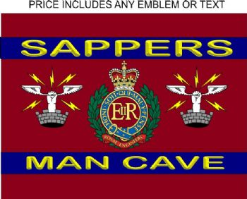 Sapper Man Cave Sign